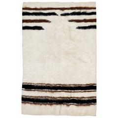 Vintage Turkish Mohair Rug