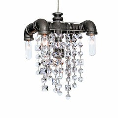 Tribeca Five-Bulb Compact Chandelier