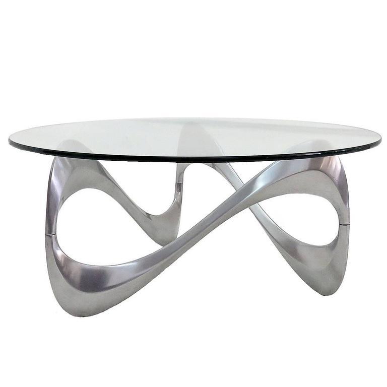 "Ronald Schmitt Coffee Table ""Schlangentisch"""