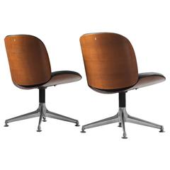 Ico Parisi Office Chairs for MIM Roma