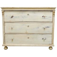 19th Century Gustavian Pine Chest of Drawers