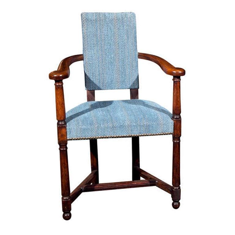 English Oak Armchair
