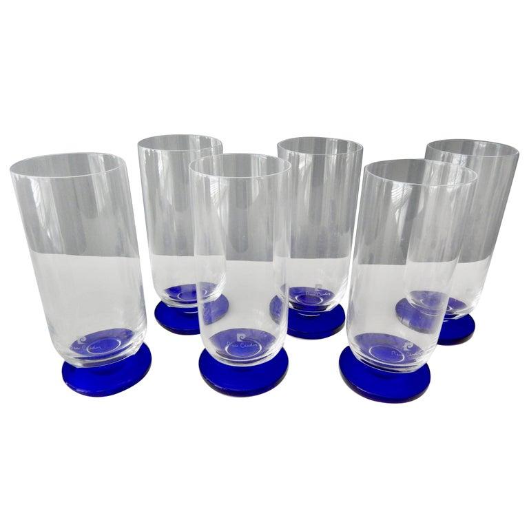 1970s Modern Glassware by Pierre Cardin For Sale