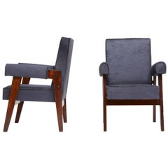Pierre Jeanneret, Pair of Advocate and Press Chairs