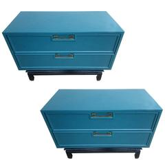 Pair 1960s American of Martinsville Mid-Century Modern Nightstands