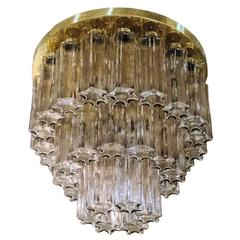Mid-Century Limburg Flush Mount Chandelier