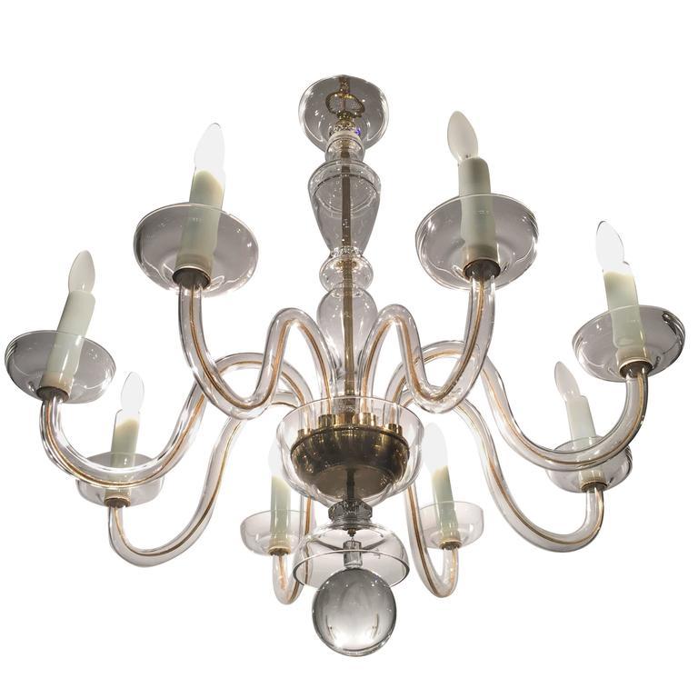 Georgian Chandelier: Georgian Style Eight Light Crystal Chandelier At 1stdibs