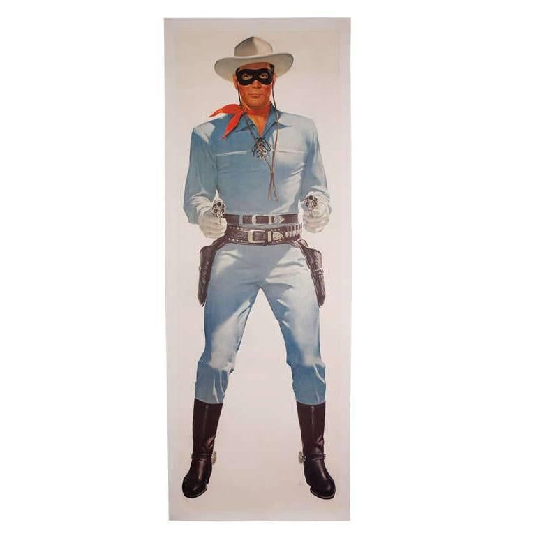 Lifesize LONE RANGER Poster from TV Series