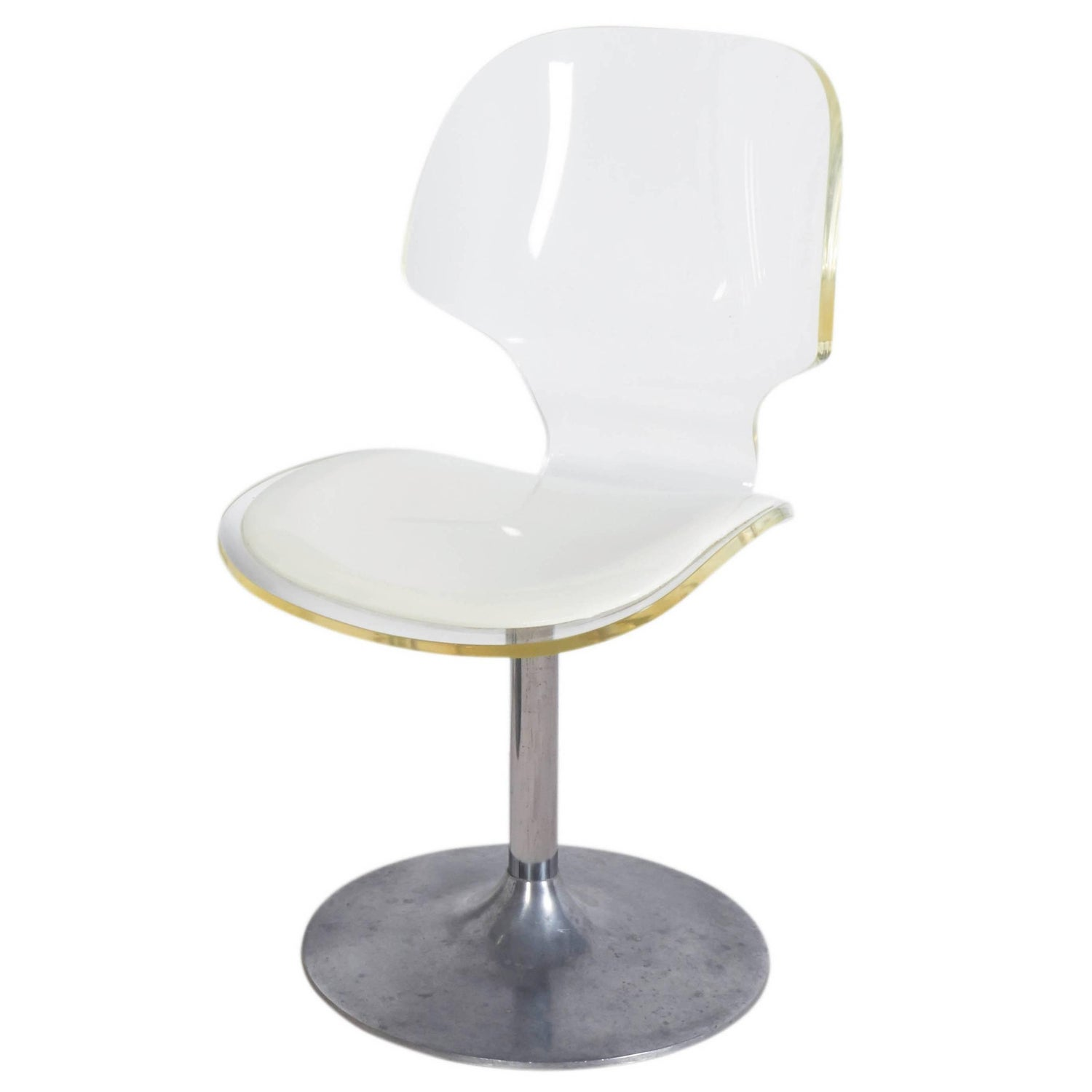 Lucite Side Chairs 40 For Sale at 1stdibs