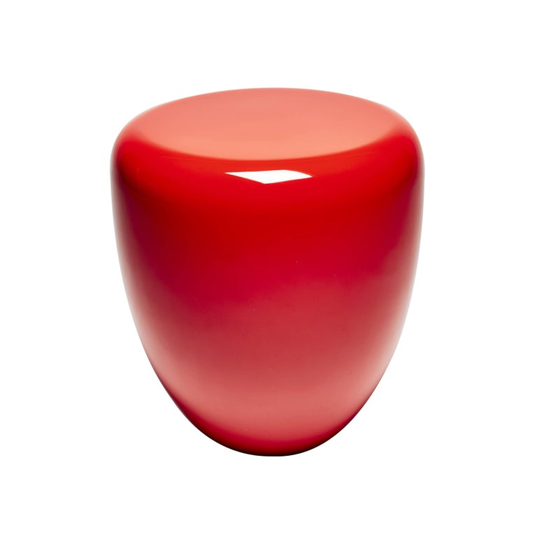 Dot, Side Table, Iconic Red, by Reda Amalou Design, 21st Century