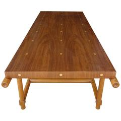 Mid-Century Tommi Parzinger Originals Polka Dot Coffee Table