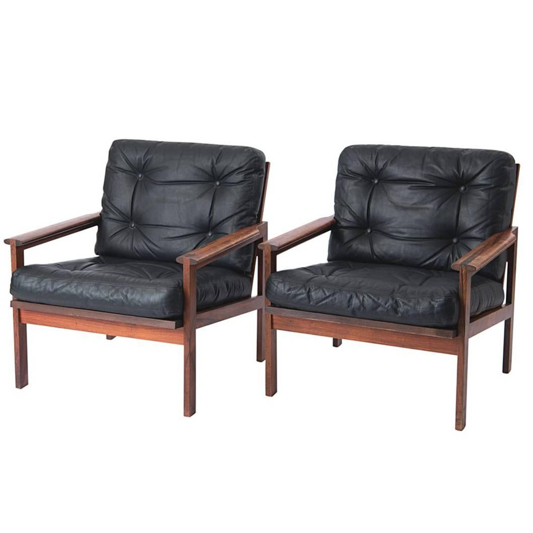 20th Century 'Capella' Armchairs by Illum Wikkelsø