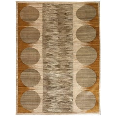 "Orley Shabahang Signature ""River Rocks"" Carpet in Hanspun Wool and Vegetal Dyes"