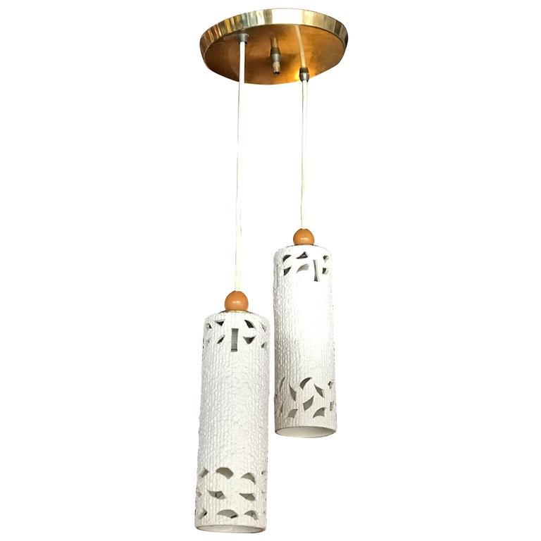Cream Ceramic Pendant Lighting