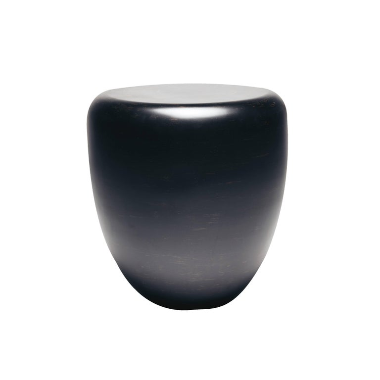 Dot Side Table Or Stool Black And Brown By Reda Amalou