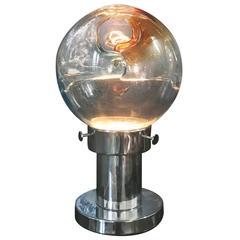 Space Age Table Lamp by Toni Zuccheri for Venini, circa 1960 in Murano Glass