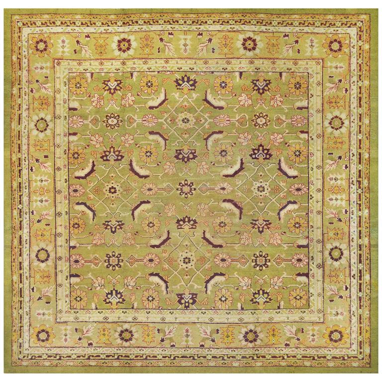 Deep Burgundy Indian Agra Rug For Sale At 1stdibs: Early 20th Century Agra Rug From North India For Sale At