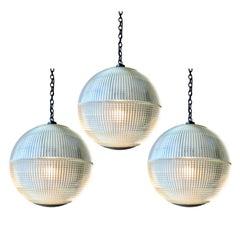 1970s Parisian Holophane Globe Streetlight