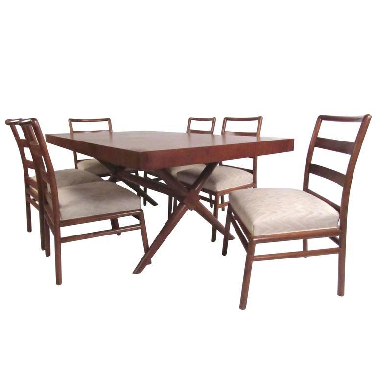 Mid-Century Dining Room Set by T.H. Robsjohn-Gibbings for Widdicomb
