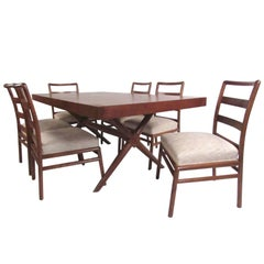 Mid-Century Dining Room Set by T.H. Robsjohn-Gibbings for Widdicomb
