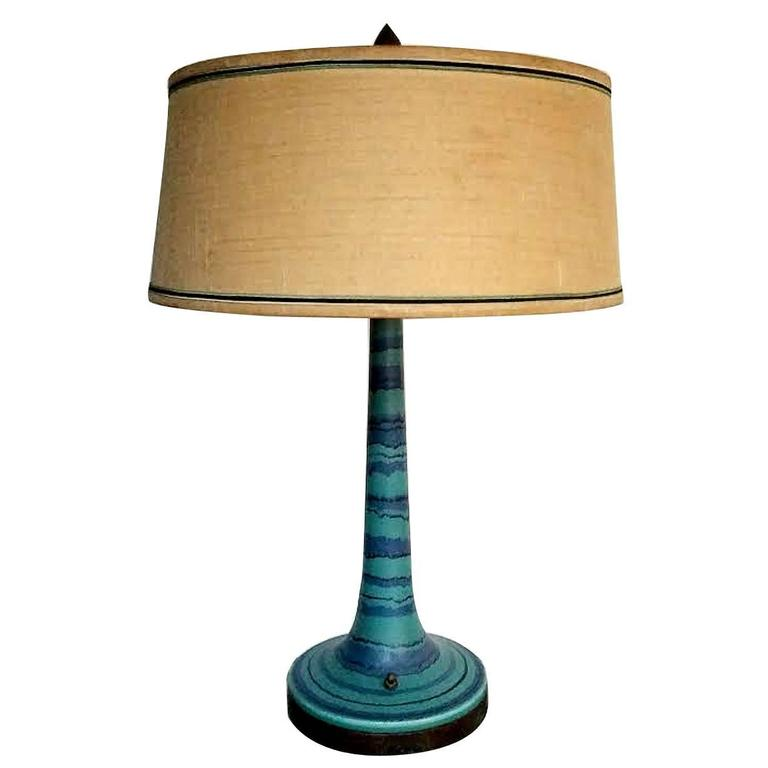 """Rare Fong Chow """"Gulfstream"""" Lamp For Sale"""