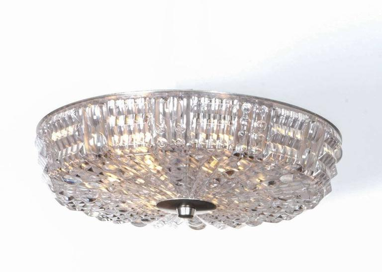 Carl Fagerlund for Orrefors Crystal Flush Mount 2