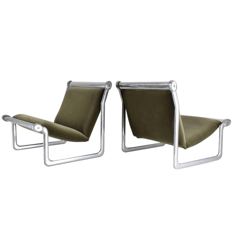 Pair of  Lounge Chairs by Hannah Morrison for Knoll, 1970's