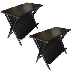 Pair of Mid-Century Modern Heywood-Wakefield Night Stands or Magazine Tables
