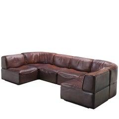 De Sede DS-15 in Dark Brown Buffalo Leather