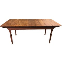 19th Century Plank Top Farm Table