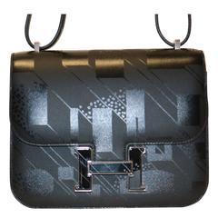 Brand New Hermes Limited Edition Constance III Mini Noir Hand Bag-Purse