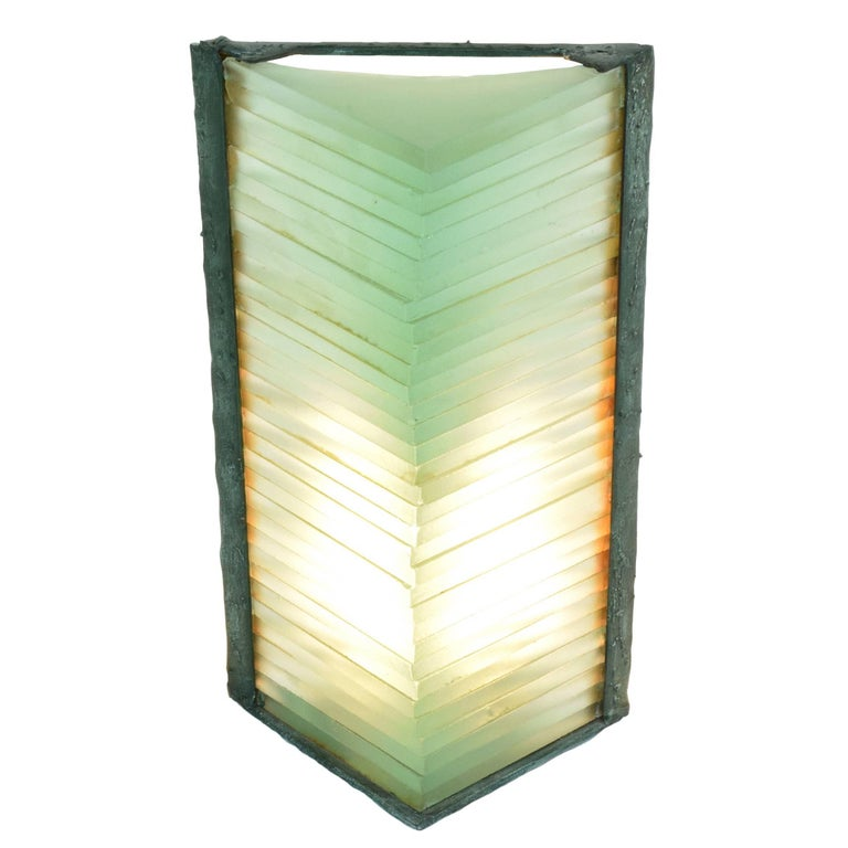 1980 S Stained Glass Lamp : French glass lamp by marco de gueltzl  s for sale at