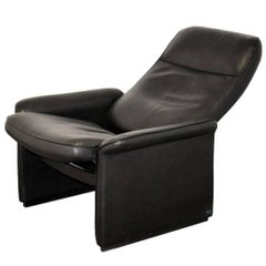Reclining Leather Lounge Armchair by De Sede of Switzerland