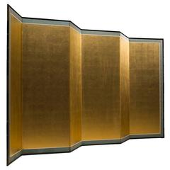 French Gold Leaf Room Divider