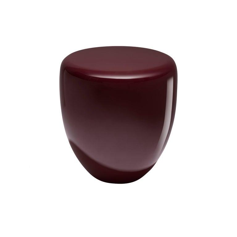 Dot, Side Table or Stool. Deep Garnet, by Reda Amalou Design, 21st Century 1