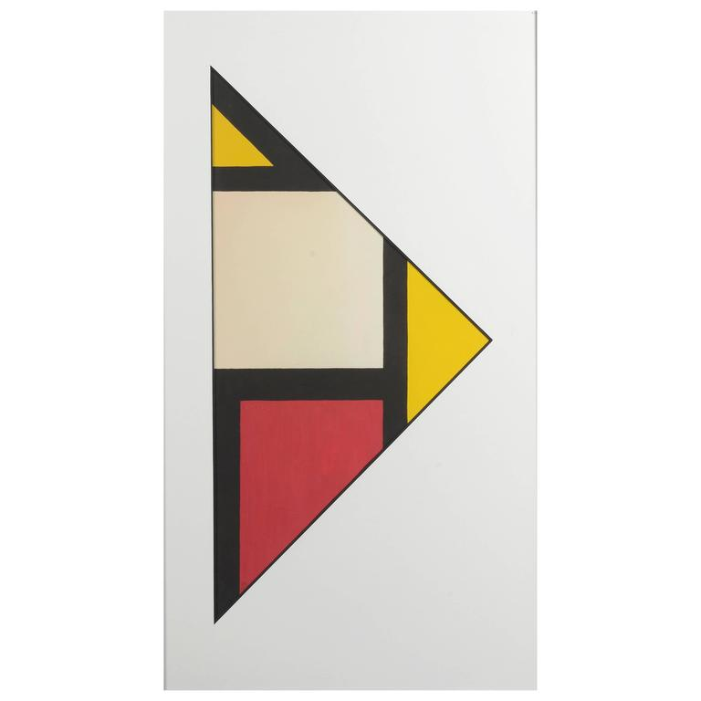 Triangular Composition by Etienne Beothy, 1950