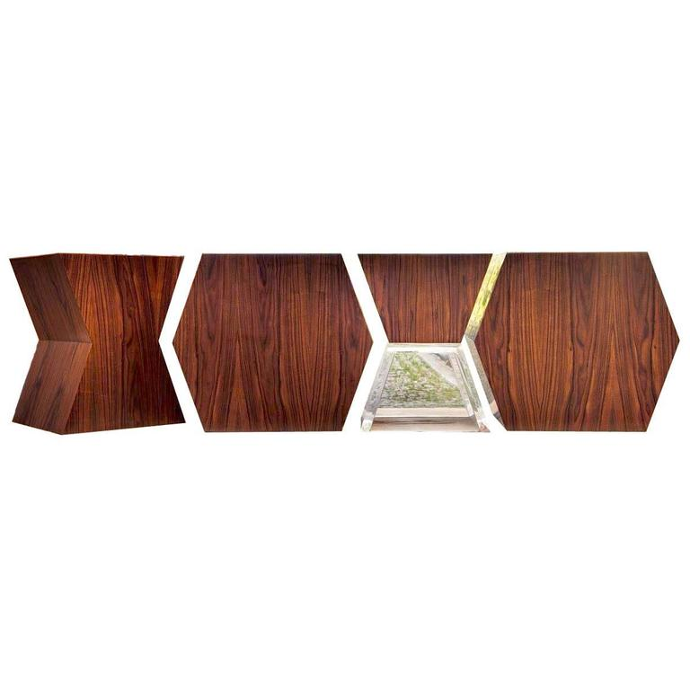 """Limited Edition André Poli """"XY"""" Stools for Vermeil For Sale"""