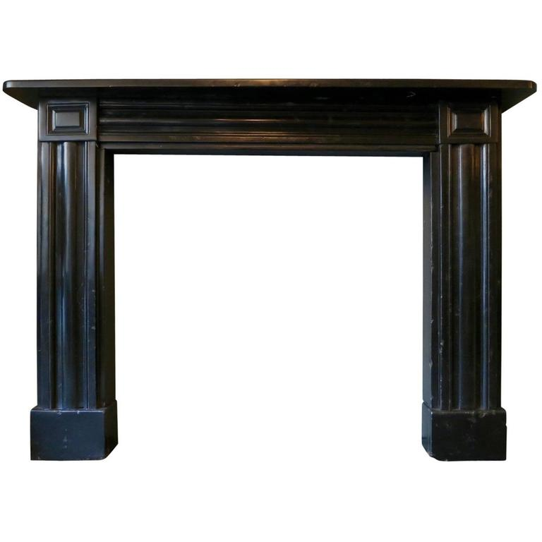 Early 19th Century Regency Fireplace Mantel