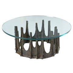 Brutalist Paul Evans Stalagmite Coffee Table