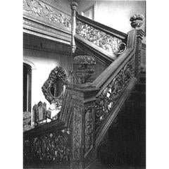 The Crakemarsh Hall Staircase