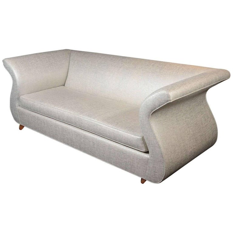 Dialogica Hollywood Regency Sofa Designed by Sergio Savarese For Sale