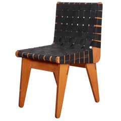 1949 Klaus Grabe Plywood Chair in Black Webbing