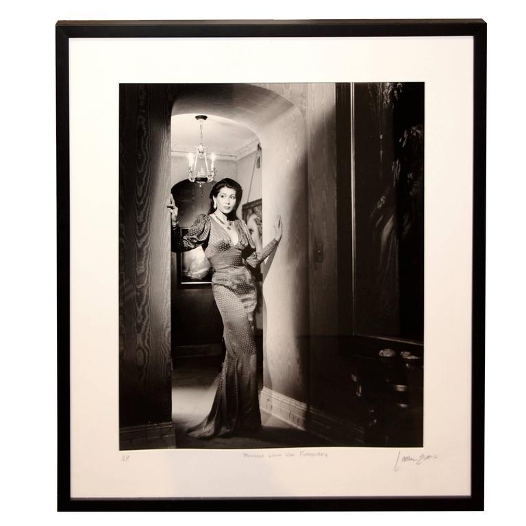 Photograph by Lance Evans of Princess Lynn Von Furstenberg