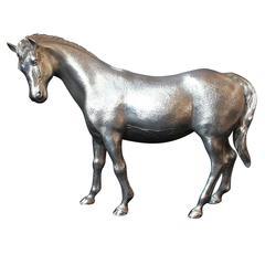 20th Century Silver Horse