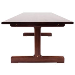 Physalia LP Dining Table, Low Profile Foot in American Walnut