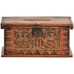 Very Rare Casket Minnekästchen, Southern Germany or Northern Italy, 15th Century