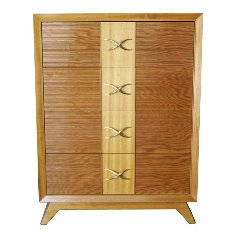 Paul Frankl Four-Drawer Dresser for Brown Saltman