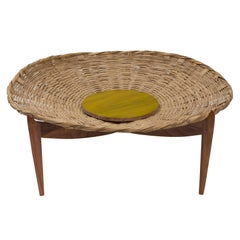 """Solaria"" Basket Table by Gabriela Valenzuela-Hirsch"
