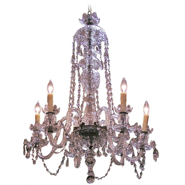 English Crystal Chandelier
