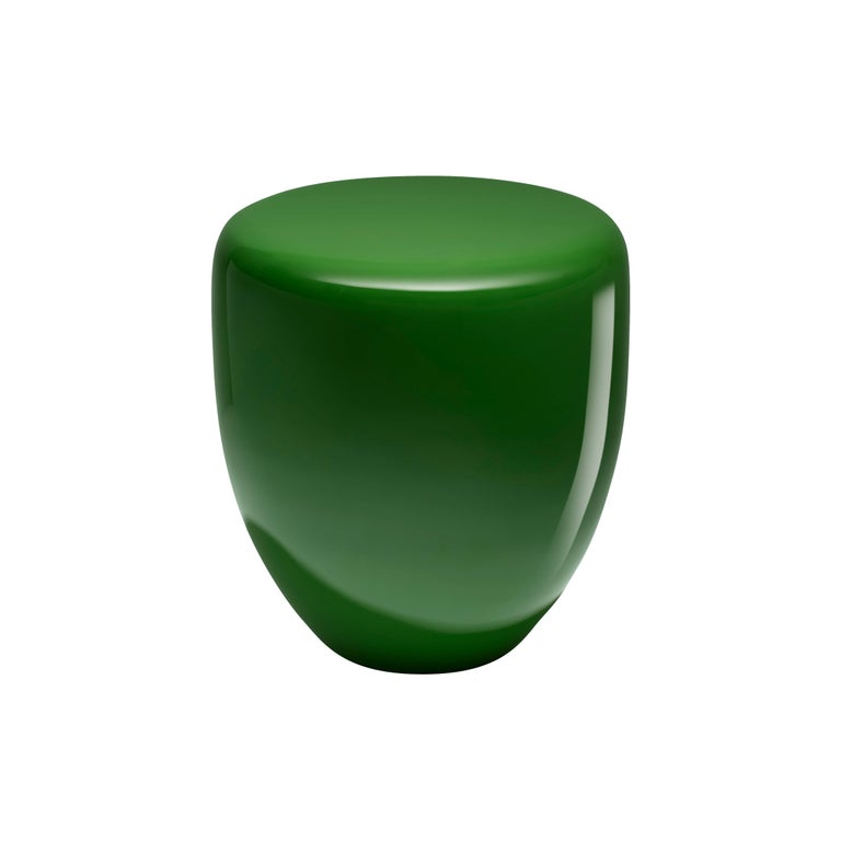 Dot, Side Table or Stool, Greenery, by Reda Amalou Design, 21st Century